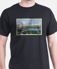 Mississippi River High Bridge at Winona T-Shirt
