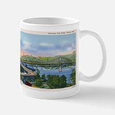 Mississippi River High Bridge at Winona Mug