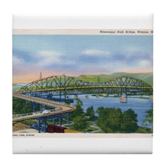 Mississippi River High Bridge at Winona Tile Coast