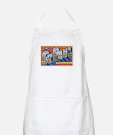 Greetings from St. Paul BBQ Apron
