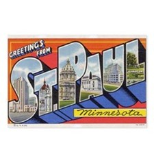 Greetings from St. Paul Postcards (Package of 8)