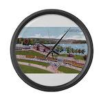 Wildwood Park Large Wall Clock