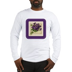 Bouquet of Violets Long Sleeve T-Shirt