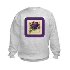 Bouquet of Violets Sweatshirt