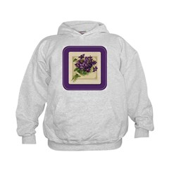 Bouquet of Violets Hoodie