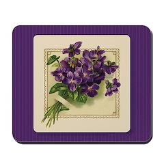 Bouquet of Violets Mousepad