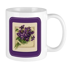 Bouquet of Violets Mug