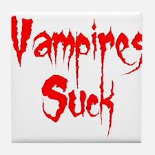Vampires Suck Tile Coaster