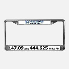 W1EDH License Plate Frame