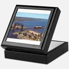 Duluth Harbor Keepsake Box