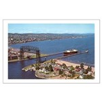 Duluth Harbor Large Poster