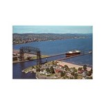Duluth Harbor Rectangle Magnet (10 pack)