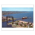 Duluth Harbor Small Poster
