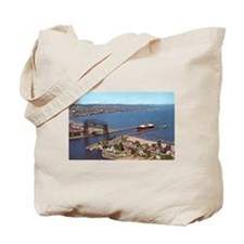 Duluth Harbor Tote Bag