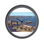 Duluth Harbor Wall Clock