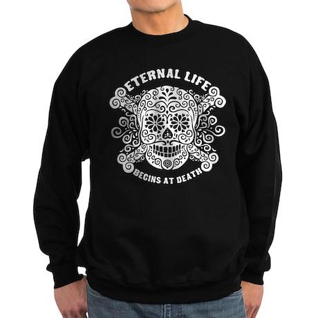 Eternal Life begins Sweatshirt (dark)