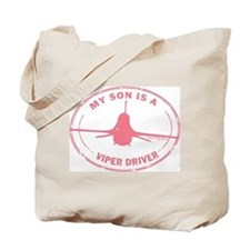 My Son is a Viper Driver Tote Bag