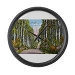 Echo Trail Large Wall Clock