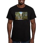 Echo Trail Men's Fitted T-Shirt (dark)