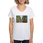 Echo Trail Women's V-Neck T-Shirt