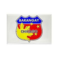 Barangay Chicago Rectangle Magnet