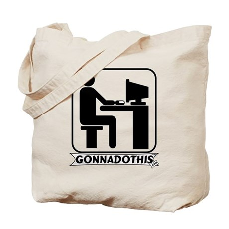GONNADOTHIS.COM-Use Computer- Tote Bag