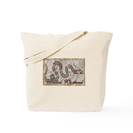 Benjamin Franklin's Cartoon U Tote Bag
