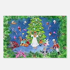 Nutcracker Christmas Ballet Postcards (Package of