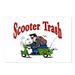 Scooter Trash Postcards (Package of 8)