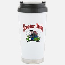 Scooter Trash Stainless Steel Travel Mug