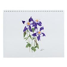 Wildflower Wall Calendar