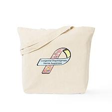 Casey & Jordan Houle CDH Awareness Ribbon Tote Bag