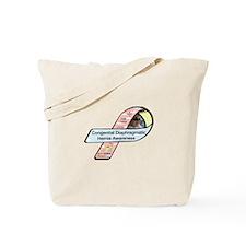 Carly Cashin CDH Awareness Ribbon Tote Bag