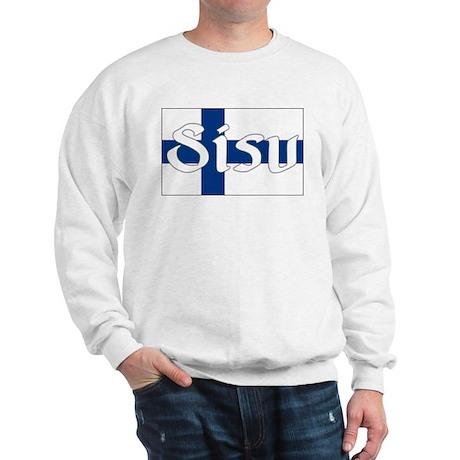 Finnish Sisu (Finnish Flag) Sweatshirt