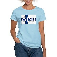 Finnish Sisu (Finnish Flag) T-Shirt