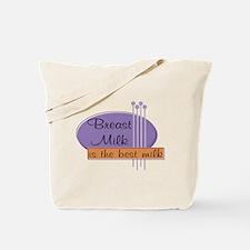 Breast Milk Best Tote Bag