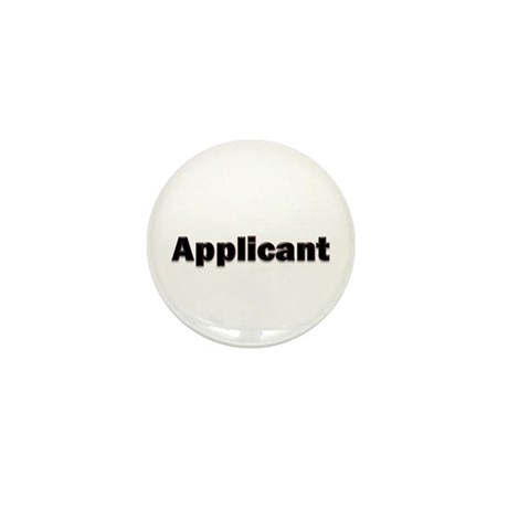 Applicant White Badge
