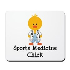 Sports Medicine Chick Mousepad