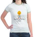Sports Medicine Chick Jr. Ringer T-Shirt