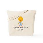 Sports Medicine Chick Tote Bag