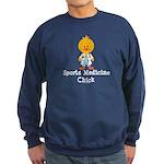 Sports Medicine Chick Sweatshirt (dark)
