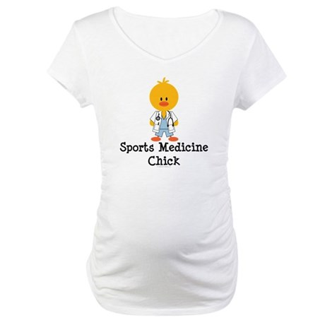 Sports Medicine Chick Maternity T-Shirt