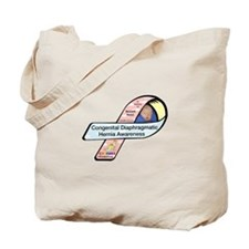 Bennet Rezso CDH Awareness Ribbon Tote Bag