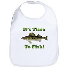 "Genuine Walleye ""It's Time to Fish"" Bib"