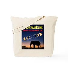 2010 Annular Eclipse (design 2) Tote Bag