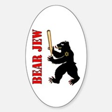 Bear Jew Inglorious Basterds Oval Decal
