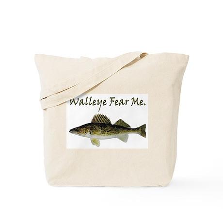 Walleye Fear Me Tote Bag
