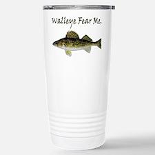 Walleye Fear Me Travel Mug