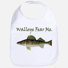 Walleye Fear Me Bib