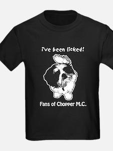Kids Fans of Chopper Motorcycle Club black t-shirt